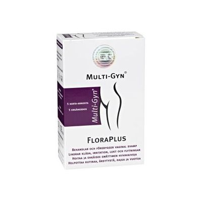 MULTI-GYN FLORAPLUS X5X5 ML
