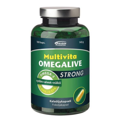 MULTIVITA OMEGALIVE STRONG X100 KAPS