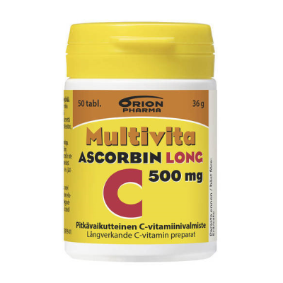 Multivita Ascorbin Long 500 mg X50 tabl