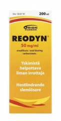 REODYN 50 mg/ml oraaliliuos 200 ml