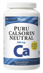 PURU CALSORIN NEUTRAL 500 MG 100 PURUTABL